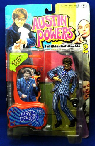 Buy Low Price Mezco Austin Powers Series 2 Austin Powers Figure (B00004S9WJ)