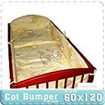 Nursery Baby Cot Bumper / Pad 60x120...