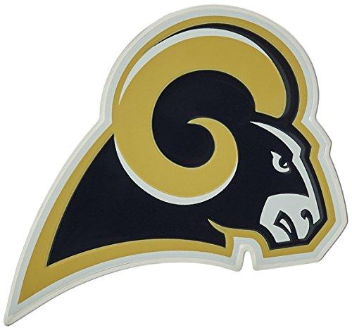 NFL Los Angeles Rams Die Cut Color Automobile Emblem (La Car Decal compare prices)