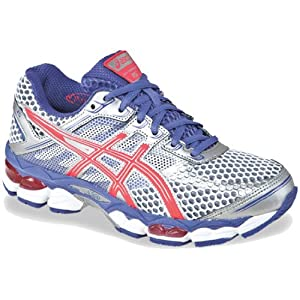 ASICS Women's GEL-Cumulus 15 Running Shoe,Lightning/Hot Punch/Purple,8.5 M US