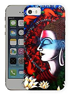 "Humor Gang Buddha Art Printed Designer Mobile Back Cover For ""Apple Iphone 5C"" (3D, Matte, Premium Quality Snap On Case)"