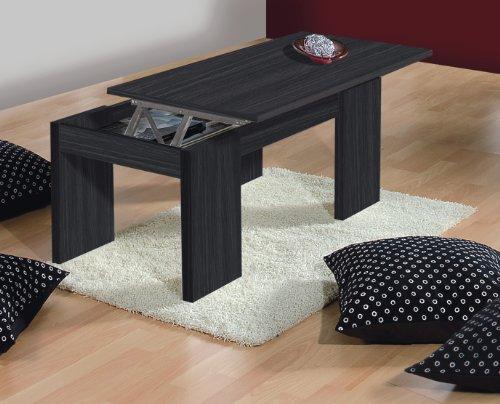 Table basse relevable pas cher - Kendra table basse grise plateau relevable ...