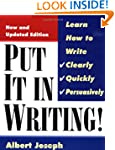 Put It In Writing: Learn How to Write...