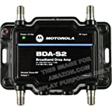 Motorola Signal Booster 2-Port BDA-S2 Cable Modem TV HDTV Amplifier