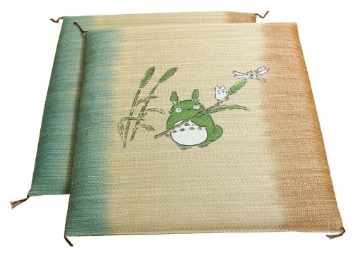Purely domestic textile returns not developemental stages Totoro 2 piece pair cushion grass about 55 x 55 cm × 2 P