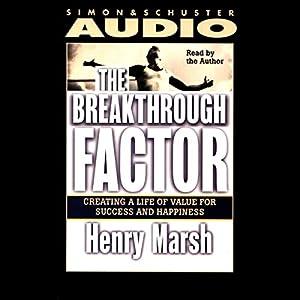The Breakthrough Factor Audiobook