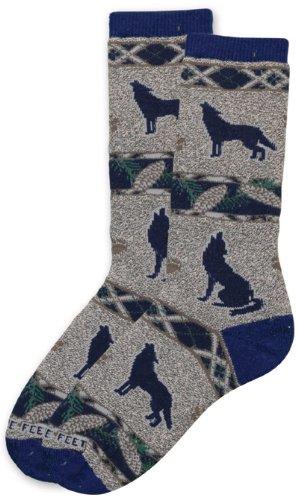 Pine Cone Wolf Socks (Dog Cone Socks compare prices)