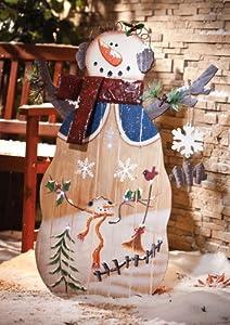 Snowman Statue
