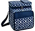Insulated Picnic Cooler with Service for 2 by Picnic at Ascot