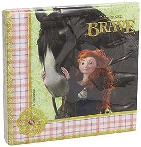 Disney Brave Two Ply Paper Napkins, Multi Color