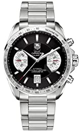 TAG Heuer Men s CAV511A BA0902 Grand Carrera Chronograph Calibre 17 RS Watch