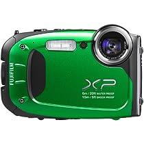 Fujifilm FinePix XP60 16.4MP Digital Camera with 2.7-Inch LCD (Green)