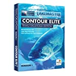 Lakemaster LPTXOKCES1 Contour Elite Mapping Software Texas/Oklahoma