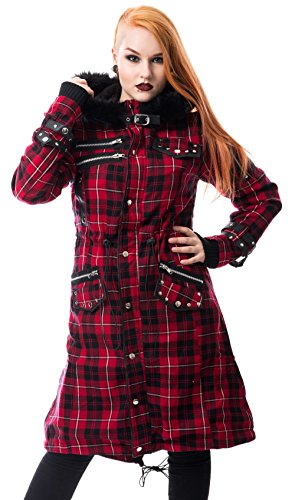 Poizen Industries -  Cappotto  - Donna Rot XL