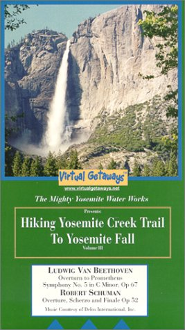 Hiking Yosemite Creek Trail to Yosemite Fall [VHS]