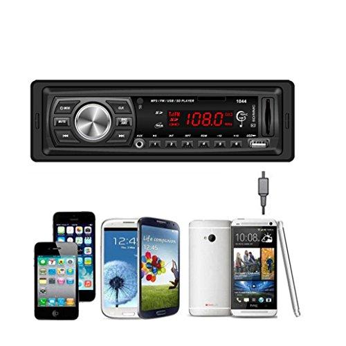 Internet En el tablero de coches de audio estéreo Bluetooth Unidad Cabeza de MP3 / USB / SD / MMC [Classe de Eficiencia Energética A +++]