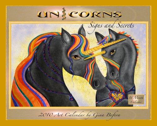 Unicorns Signs and Secrets Art Calendar
