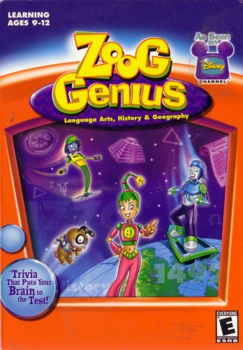 Zoog Genius (Language Arts, History, Geography)
