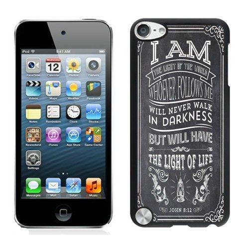 BINGO discount CiCi Mode Christian Jesus Bible Verse Soft Plastic Case iPod Touch 5 Case Black Cover