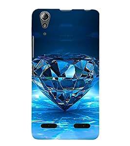 Vizagbeats diamond Back Case Cover for Lenovo A6000 Plus