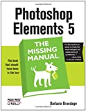 img - for Photoshop Elements 5: The Missing Manual book / textbook / text book