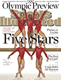 img - for Sports Illustrated magazine, July 23, 2012-London Olympic Preview Issue-Fab Five U.S. Woman Gymnastics Team on cover:Jordyn Wieber, Gabby Douglas, Aly Raisman, Kyla Ross & McKayla Maroney book / textbook / text book