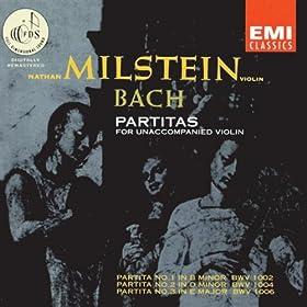 Partita No.1 in B minor for Unaccompanied Violin, BWV 1002: VI. Double