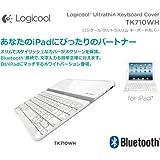LOGICOOL ウルトラスリム キーボードカバー TK710WH