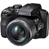 Fujifilm FinePix S9400W / S9450W - 16.2 Megapixel CMOS, 50x Zoom, WiFi Digital Camera with 3.0-Inch LCD Display - Black (Certified Refurbished)