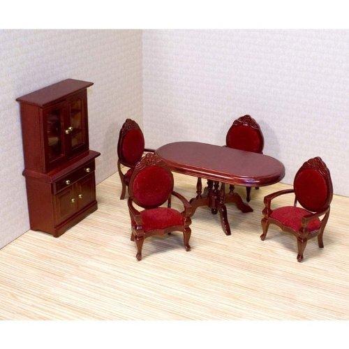Imagen de Melissa & Doug Deluxe Doll - Restaurante propio muebles de la sala