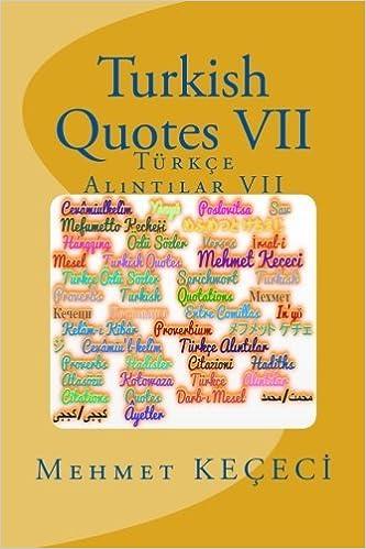 Turkish Quotes VII
