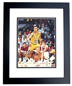 Chris Jackson Autographed Hand Signed LSU Tigers 8x10 Photo - BLACK CUSTOM FRAME by Real+Deal+Memorabilia