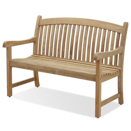 Amazonia Teak Newcastle Teak 4-Feet Bench
