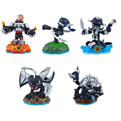 Skylanders SWAP Force Dark Edition 5 Figure Set (Skylanders Dark Spyro Figure compare prices)