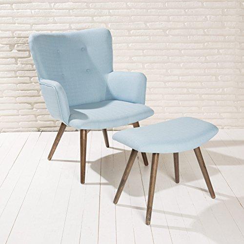 Design-Polstersessel-Sessel-Roma-himmel-blau-Armlehnenstuhl-Fubank-Stoff-Holz