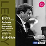 Debussy - Images/ Brahms - Piano Concerto/ Prokofiev - Piano Sonata (Emil Gilels/ Kolner Rundfunk Sinfonie-Orchester/ Mario Rossi) (ICA  Classics: ICAC 5077)