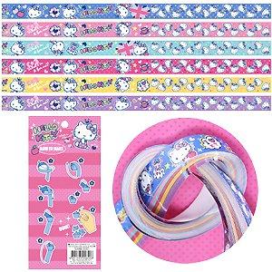 Sanrio Hello Kitty Lucky Wish Star Origami Star Paper Folding Star 60 pcs 6 Colors