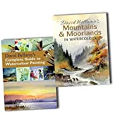 David Bellamy Watercolour Painting 2 Art Books Collection Set Pack RRP: �32.94 (David Bellamys Complete Guide to Watercolour Painting, David Bellamys Mountains & Moorlands in Watercolour)by David Bellamy