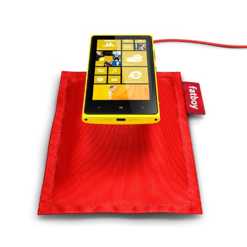 Nokia Original DT-901 Fatboy Wireless Ladekissen für Lumia 820/920 rot