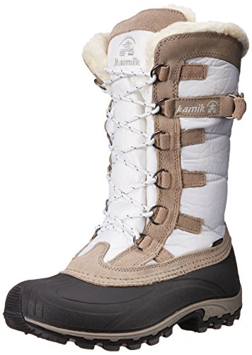 Kamik Women's Snowvalley Winter Snow Boot ,White WH2,9 M US (Kamik Rival compare prices)
