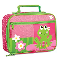 Stephen Joseph Girl Frog Lunch Box, Pink