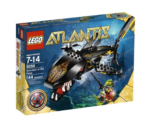LEGO Atlantis Guardian of the Deep (8058) Amazon.com