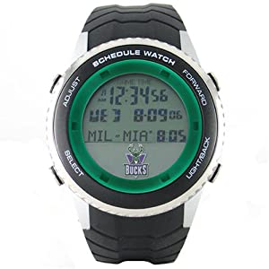 NBA Mens NBA-SW-MIL Schedule Series Milwaukee Bucks Watch by Game Time