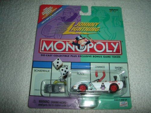 Johnny Lightning Monopoly Modern Monopoly Corvette - 1
