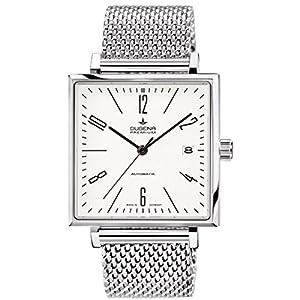 Dugena 7090323 - Reloj de pulsera hombre, acero inoxidable, color plateado