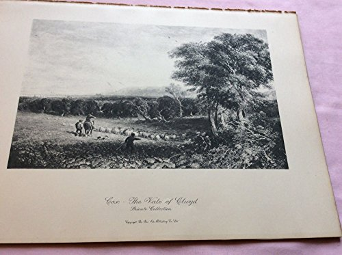 Listing 2) Lithograph Print Old & Modern Masters( The Vale Of Clwyd By David Cox)