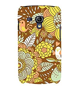 Floral Fruits 3D Hard Polycarbonate Designer Back Case Cover for Samsung Galaxy S3 Mini :: Samsung Galaxy S3 Mini i8190