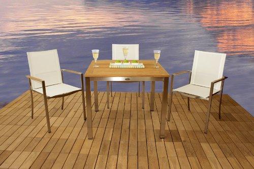 Diamond Garden Tisch San Remo 90 x 90 kaufen