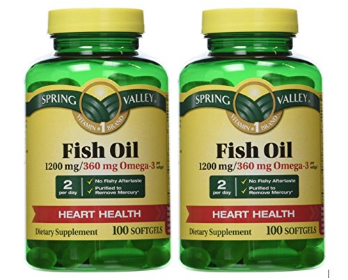 Best fish oil spring valley for sale 2016 giftvacations for Spring valley fish oil review