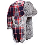 Mad Bomber Original Wool Bomber Cap with Real Fur